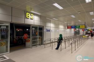 Bukit Panjang Bus Interchange - Boarding berths