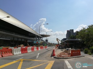 Expo MRT Station - New Bus Stops
