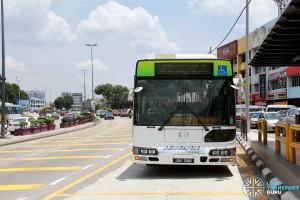 Hino Blue Ribbon City Hybrid at Senai