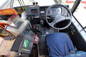 Hino Blue Ribbon City Hybrid - Driver's cabin