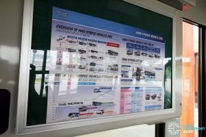 Hino Blue Ribbon City Hybrid - Bus information sheet