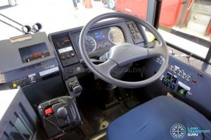 Hino Blue Ribbon City Hybrid - Dashboard