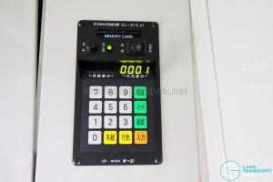 Hino Blue Ribbon City Hybrid - EDS control panel