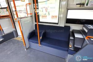 Hino Blue Ribbon City Hybrid - Side-facing seats