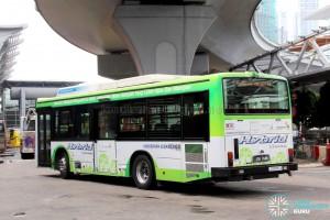 Hino Blue Ribbon City Hybrid (JSH2448) - Service 7B - Rear