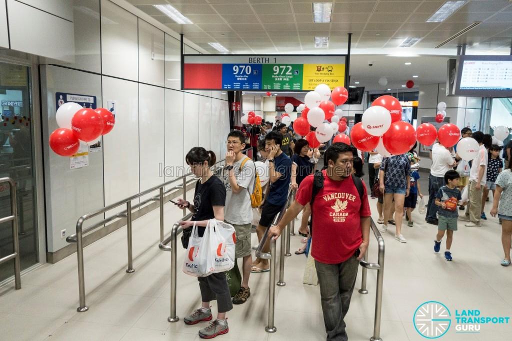 Journey With Us @ Bukit Panjang ITH: Interchange concourse