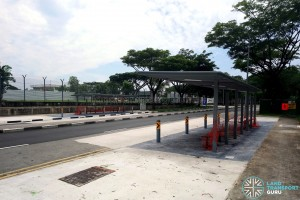 Kaki Bukit Road 5: New Bus Stops under construction