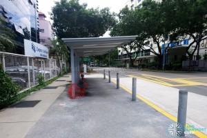 Kaki Bukit Road 3: New Bus Stops under construction