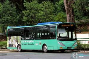 ComfortDelgro Bus Volvo B9L (PC3785T) - NUS ISB Route A1