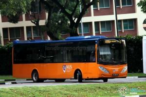ComfortDelgro Bus Volvo B9L (PC3853E) - NUS ISB Route C