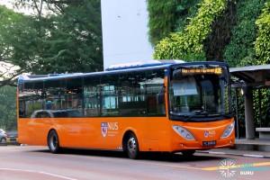 ComfortDelgro Bus Volvo B9L (PC3880B) - NUS ISB Route A2E