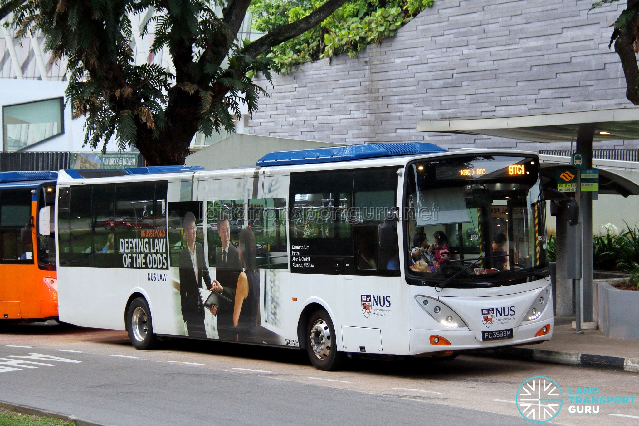 Nus Shuttle Service Btc Land Transport Guru