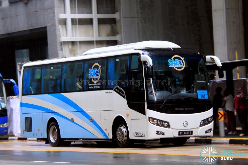 Bus Hub Golden Dragon XML6957J14BM (PC4015B) - City Direct 665