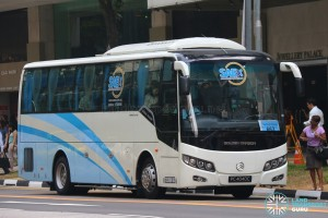 City Direct 663 - Bus Hub Golden Dragon XML6957J14B (PC4040C)