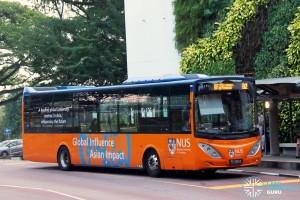 ComfortDelgro Bus Volvo B9L (PC4051X) - NUS ISB Route B2