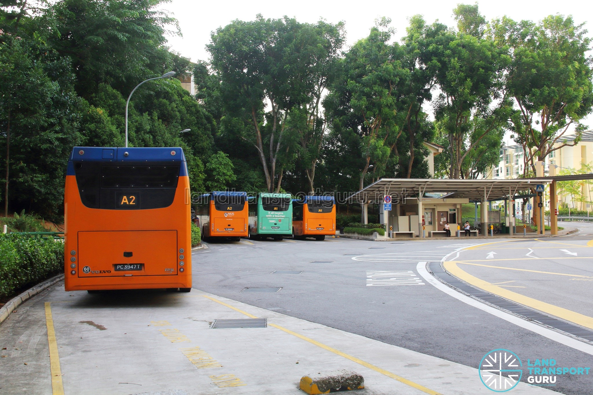 NUS Internal Shuttle Bus
