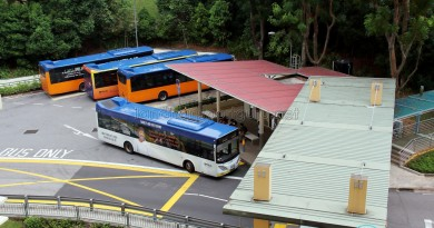 Prince George's Park Bus Terminal - Overhead view