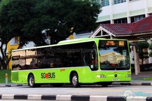 SMRT Mercedes-Benz Citaro (SG1027E) - Service 860
