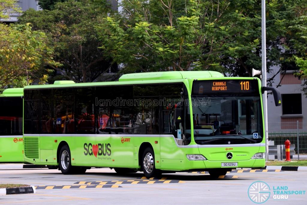 SMRT Mercedes-Benz Citaro (SG1129U) - Service 110