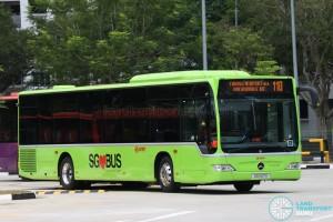 SMRT Mercedes-Benz O530 Citaro (SG1137X) - Service 110