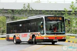 SMRT Mercedes-Benz Citaro (SG1695B) - Service 110