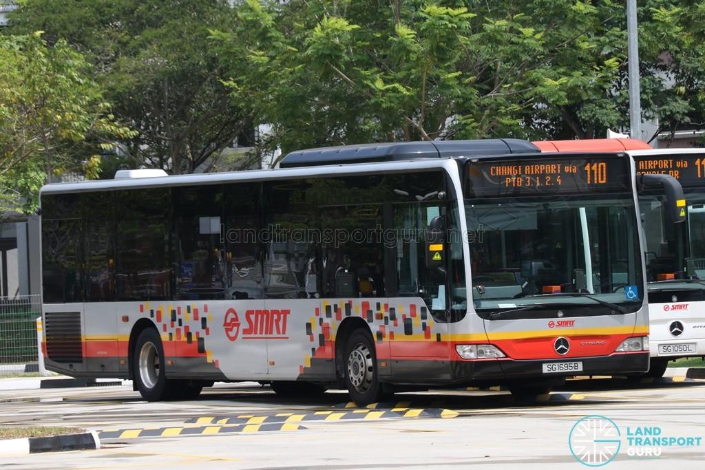 SMRT Mercedes-Benz O530 Citaro (SG1695B) - Service 110