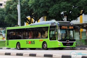 SMRT MAN NL323F (SG1719S) - Service 807A