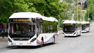 Volvo 7900 Hybrid buses
