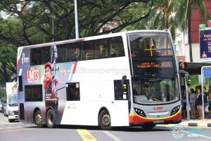 SMRT Alexander Dennis Enviro500 (SMB5049M) - Service 812E
