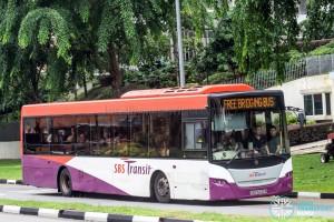 SBS Transit Scania K230UB (SBS5232R) - NSL Free Bridging Bus