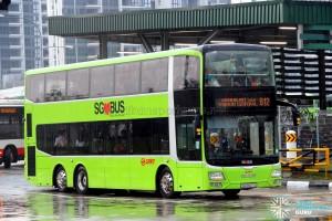 SMRT MAN A95 Facelift (SG5807U) - Service 812