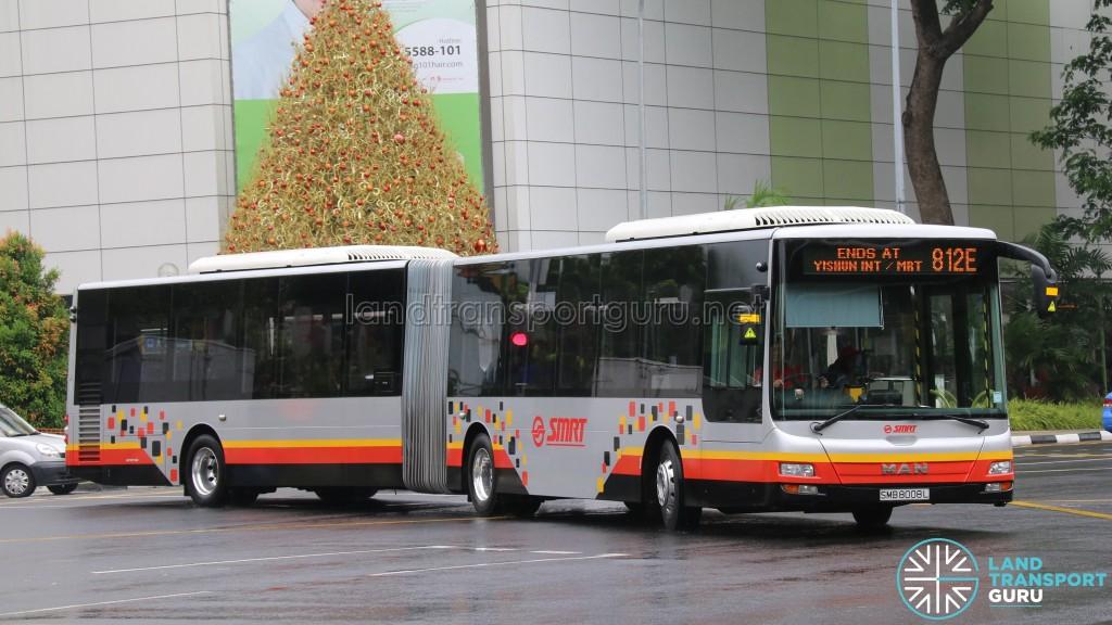 SMRT MAN NG363F A24 (SMB8008L) - Service 812E