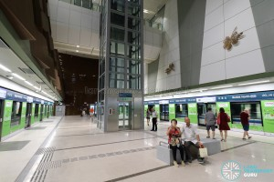Bedok North MRT Station - Platform level (B4)
