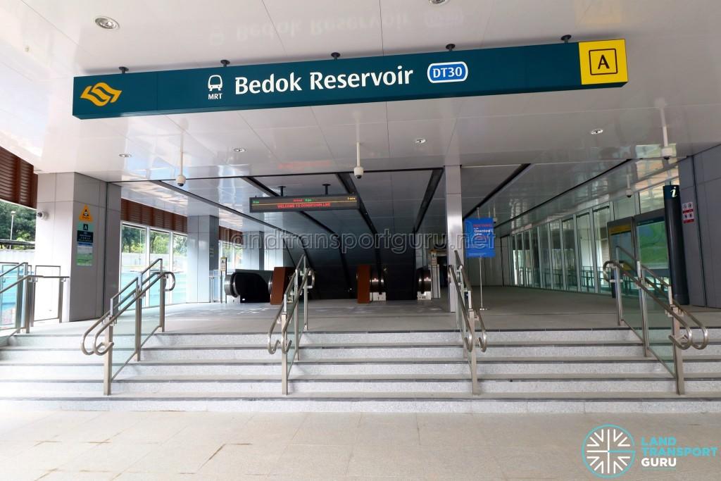 Bedok Reservoir MRT Station - Exit A
