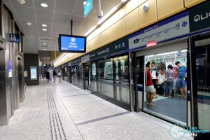 Bencoolen MRT Station - Platform B