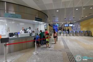 Bencoolen MRT Station - PSC & Faregates (B2)