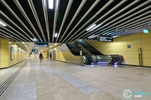 Bencoolen MRT Station - Linkway (B1)