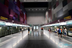 Bendemeer MRT Station - Platform level