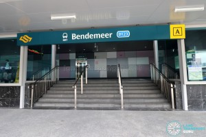 Bendemeer MRT Station - Exit A