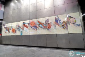 Bendemeer MRT Station - Art In Transit 'And A New World'