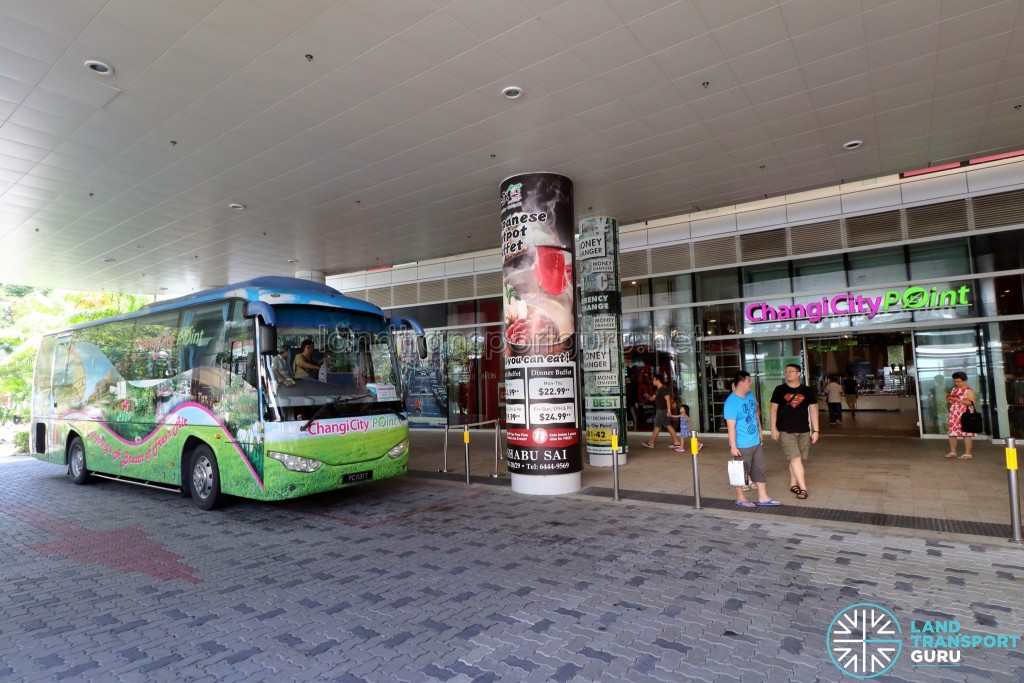 Changi City Point Shuttle Bus