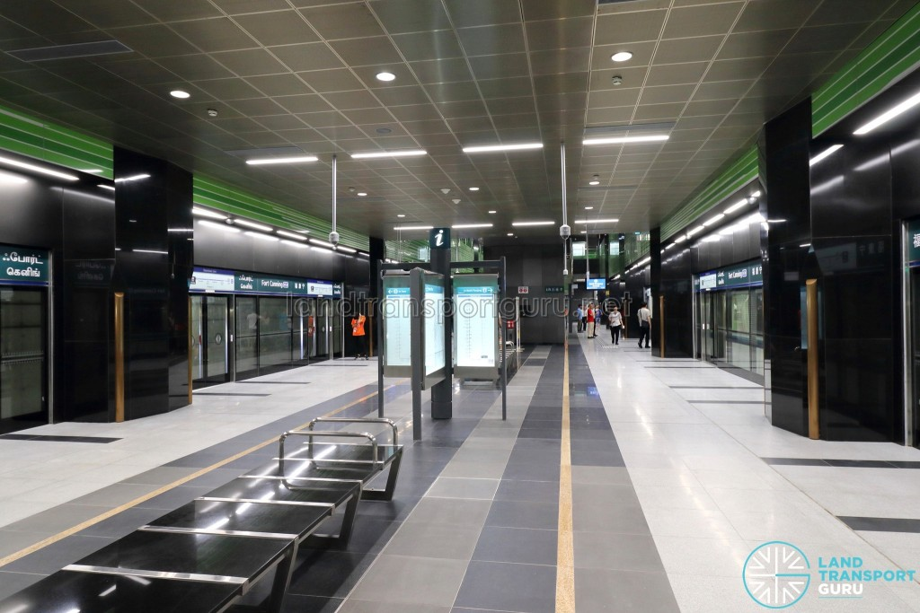 Fort Canning MRT Station - Platform level
