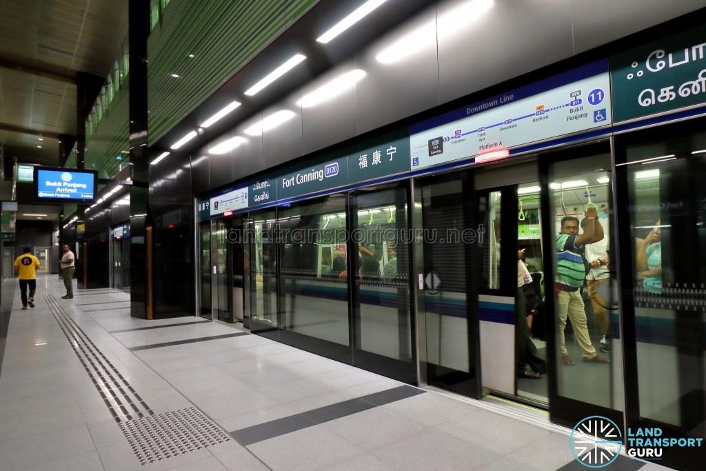 Fort Canning MRT Station - Platform A