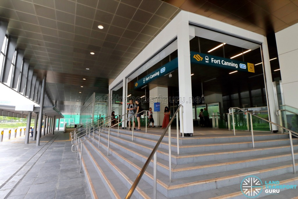 Fort Canning MRT Station - Exit A