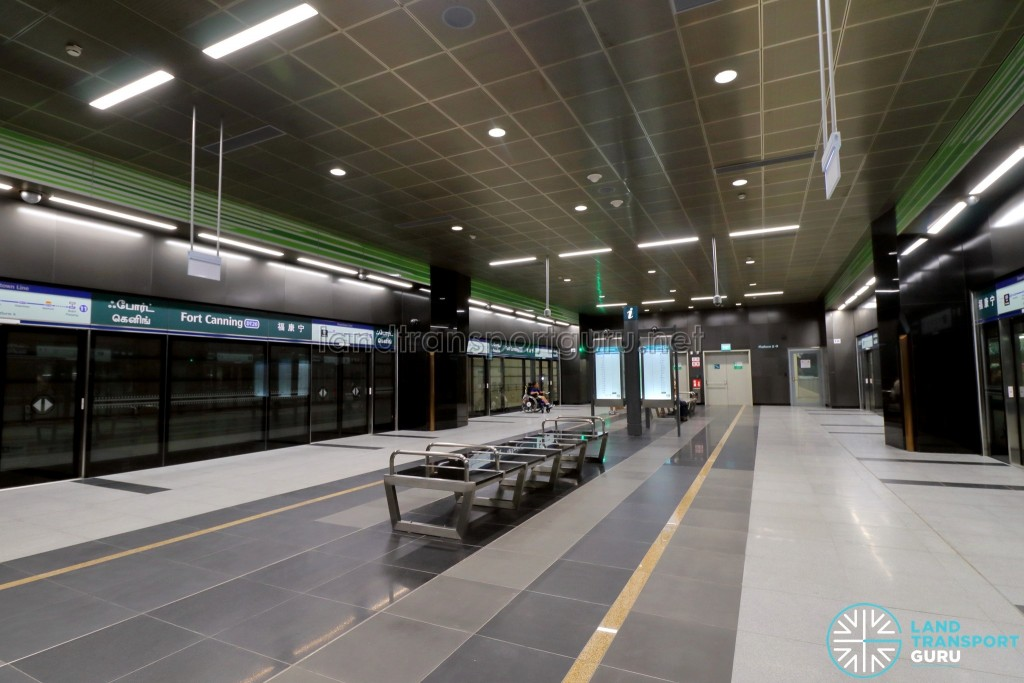 Fort Canning MRT Station - Platform Level (B2)