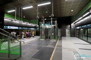 Fort Canning MRT Station - Platform Level (B2)