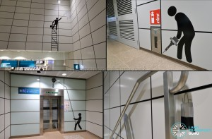 "Geylang Bahru MRT Station - Art In Transit ""Constructed Memories"""