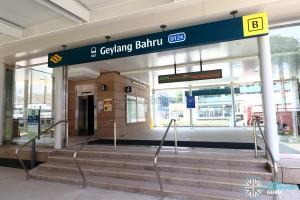 Geylang Bahru MRT Station - Exit B
