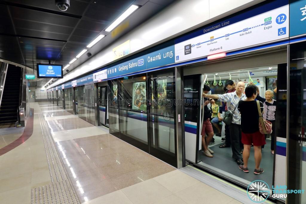 Geylang Bahru MRT Station - Platform B