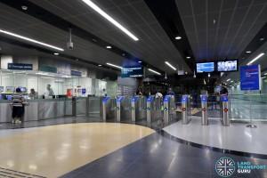 Jalan Besar MRT Station - PSC & Faregates